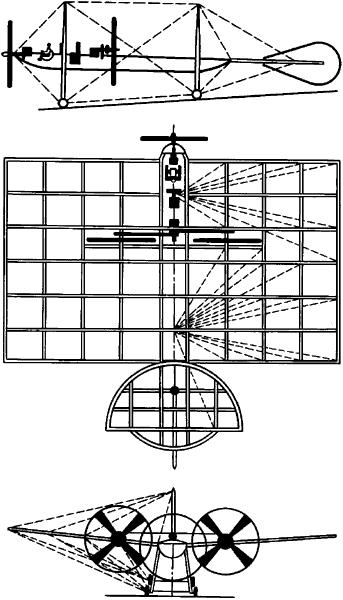 Реконструкция самолёта А.Ф.Можайского.