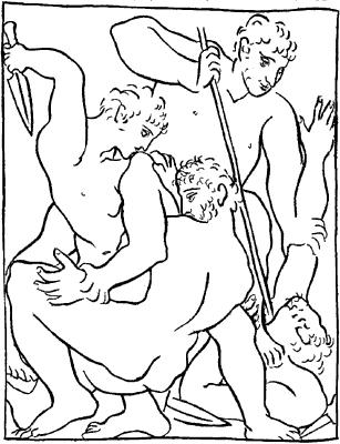 Овидий. «Метаморфозы». Иллюстрация П.Пикассо.