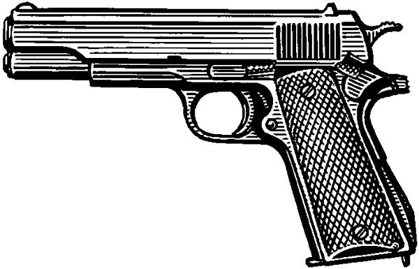Пистолет образца 1951 конструкции И.Я.Стечкина.