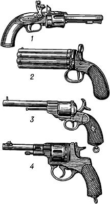 Револьверы.