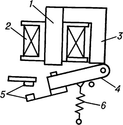 Электромагнитное реле.