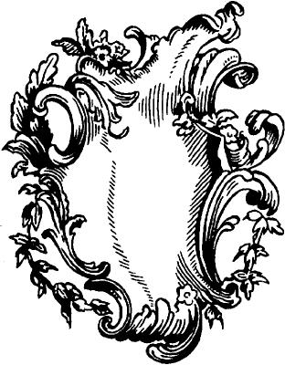 Рокайль. Характерный мотив орнамента.