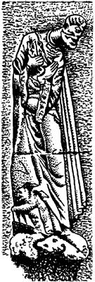 Рельеф «Святой Пётр».