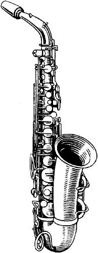 Саксофон.