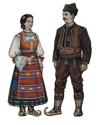 Прайс-лист Национальные костюмы.