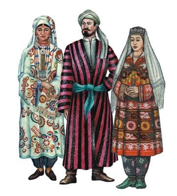 Таджики.