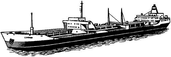 Морской танкер «София» дедвейтом 50тысяч тонн.