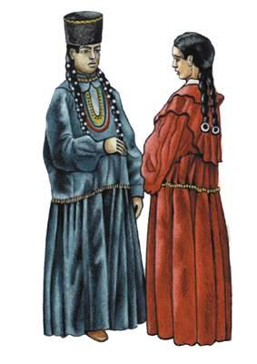 Татары среднеазиатские.