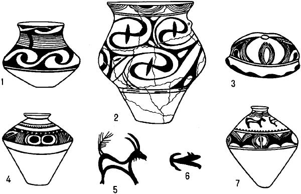 Трипольская культура. Расписная керамика и орнаментальные мотивы.