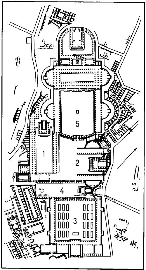 Императорские форумы в Риме Iв. дон.э.— IIв.н.э. Планы.