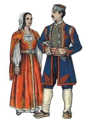 Черногорцы.