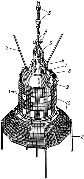 Искусственный спутник Земли «Электрон-2».