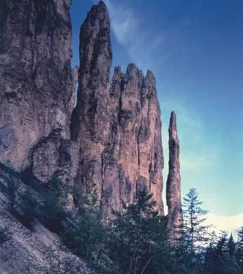 Памятник природы «Ленские столбы».