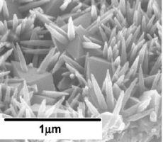 Нанокристаллический TiO2, полученный гидротермальным способом.