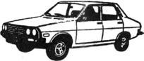 Легковой автомобиль Дачия