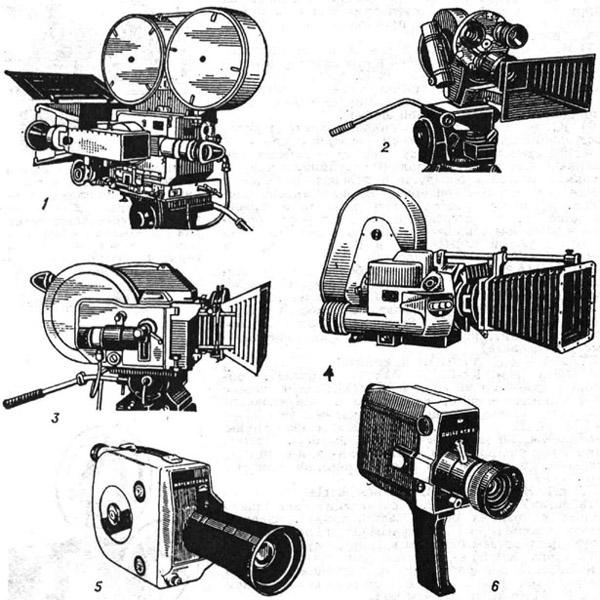 Некоторые киносъёмочные