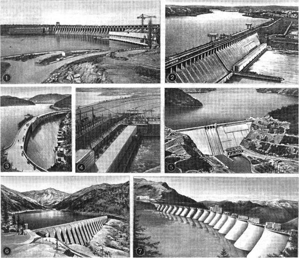 Плотина Братской ГЭС имени