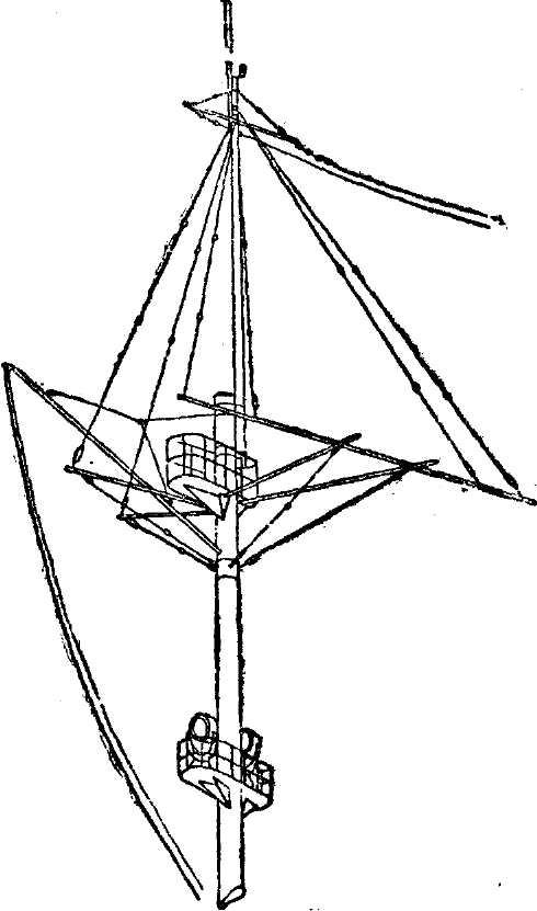 пенька на корабельной снасти