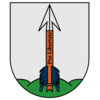 Coat of arms of Akmenė (Lithuania).png
