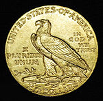 Quarter eagle 1910year reverse.jpg