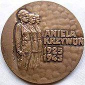Medal Aniela Krzywoń awers.jpg