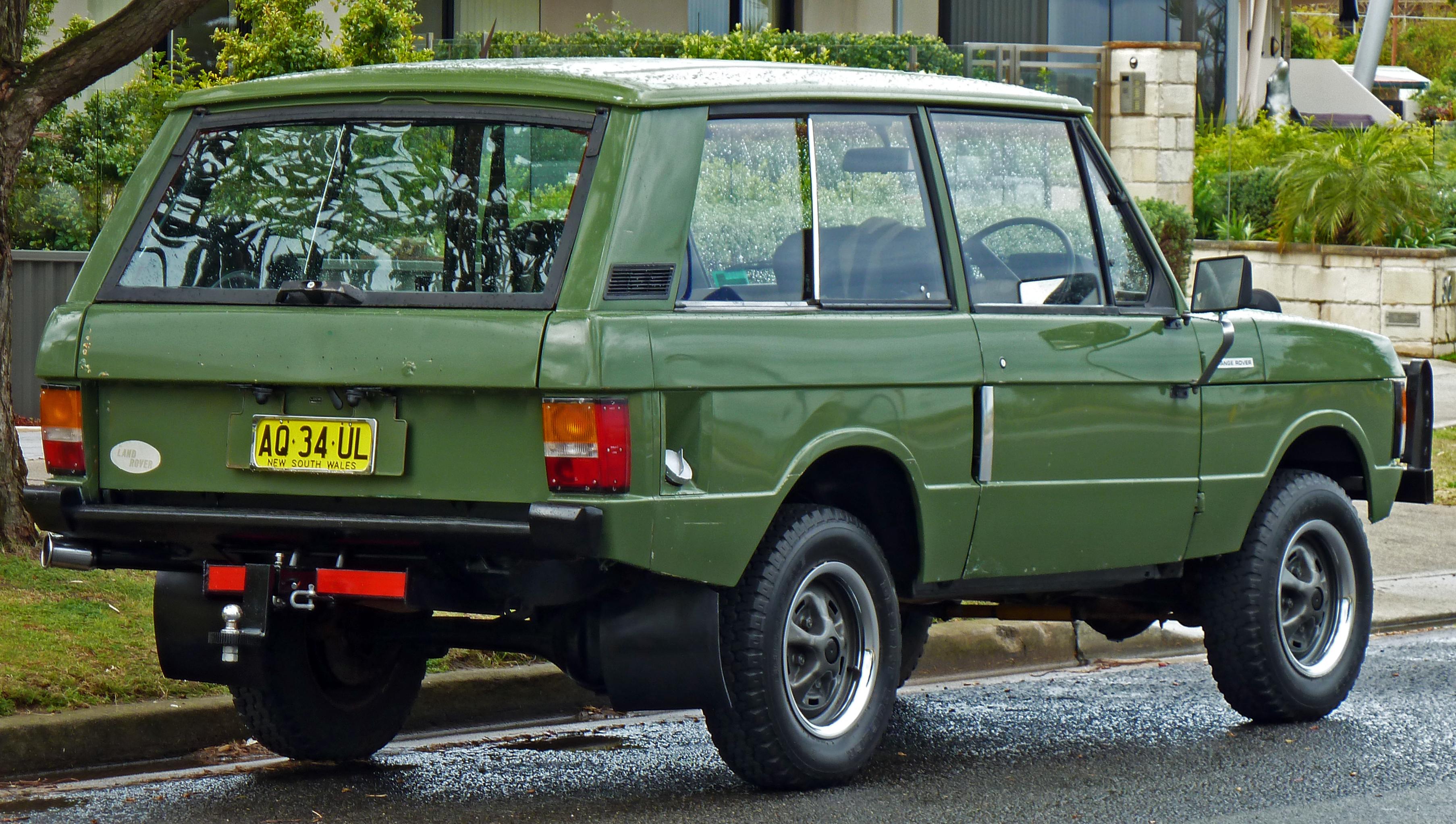 Range Rover это Что такое Range Rover