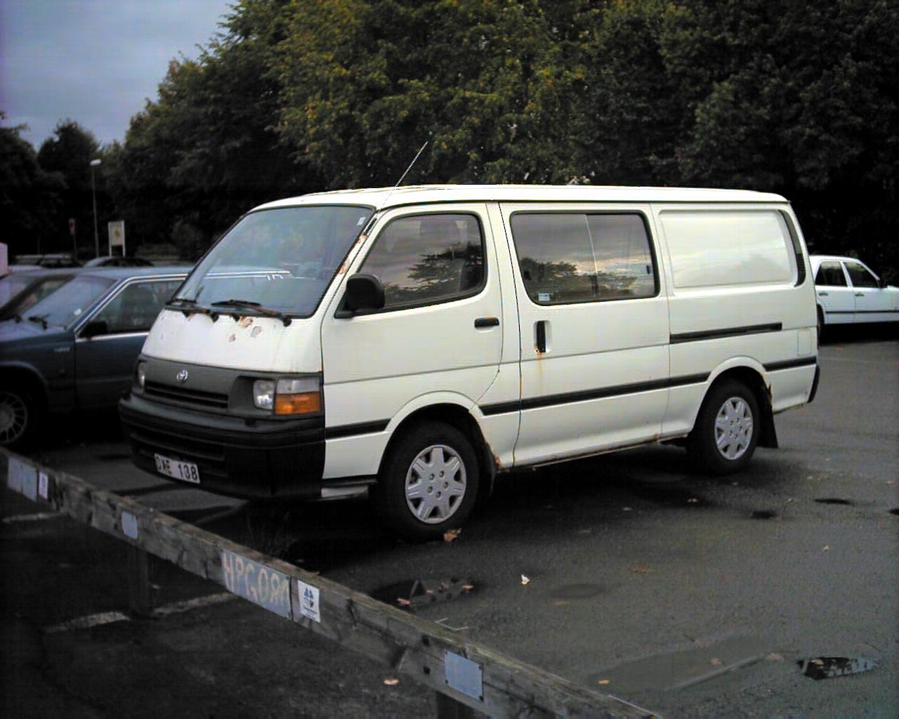 Toyota Hiace это Что такое Toyota Hiace