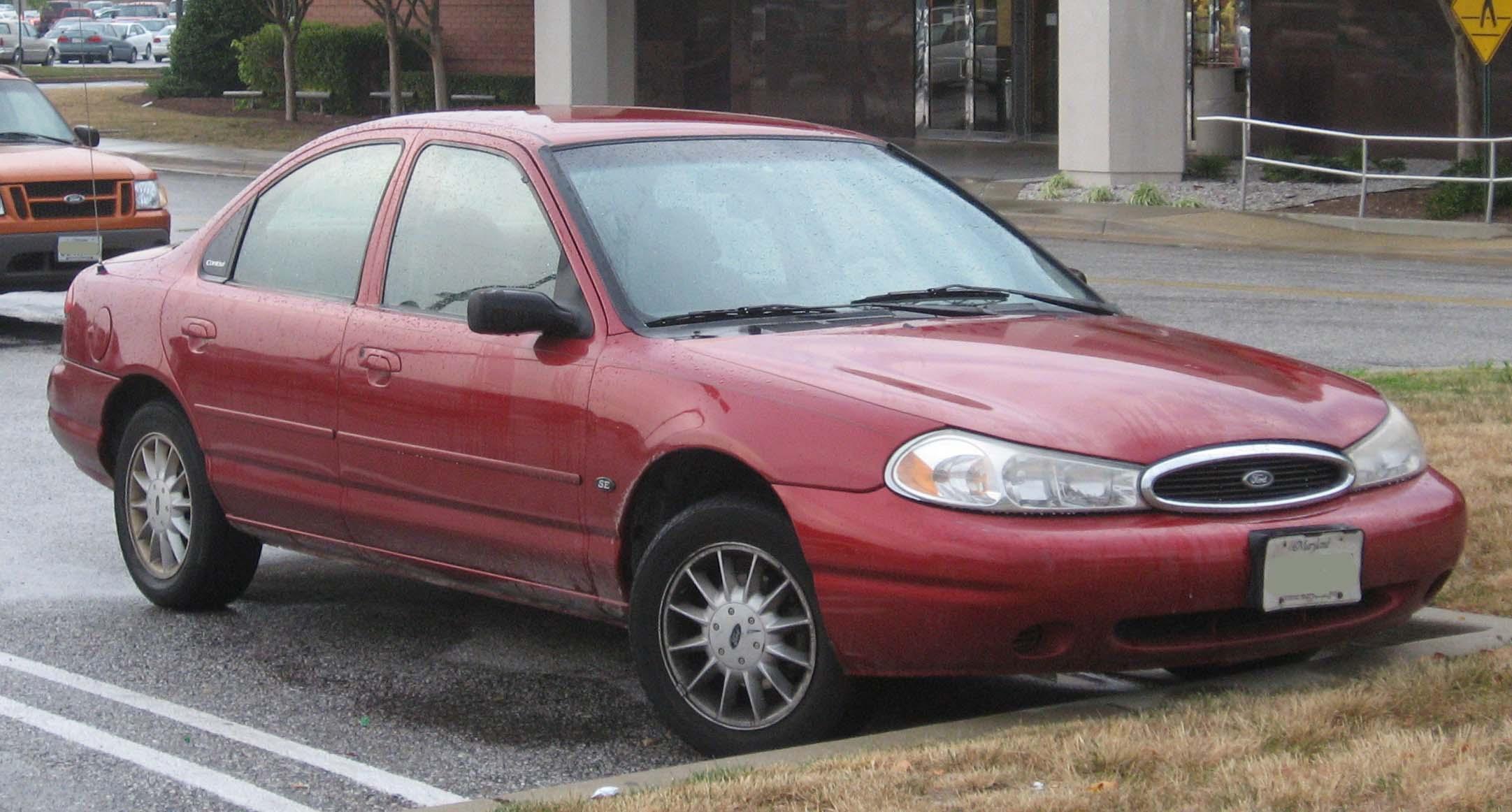 Ford Contour это Что такое Ford Contour