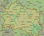 Географическая карта Орловской области содержит информацию о...