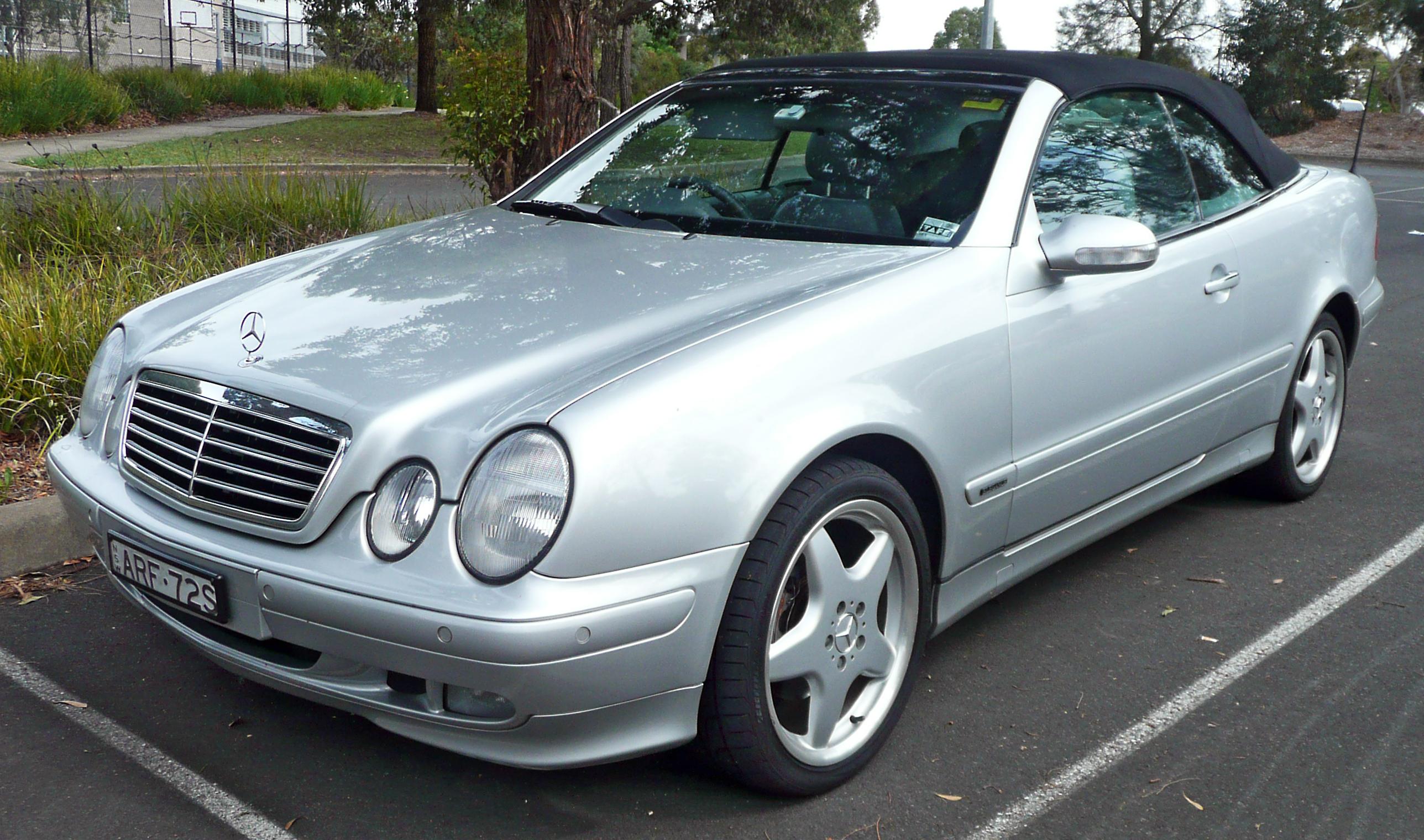 Mercedes benz w208 mercedes benz w208 for 2000 mercedes benz clk 320