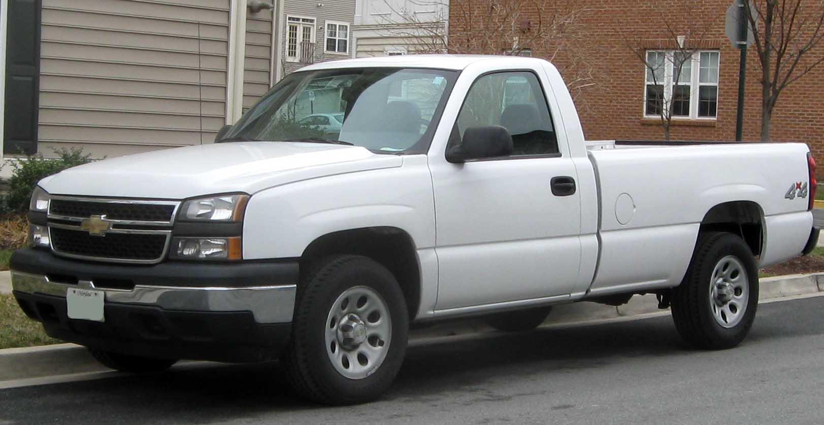 Chevrolet Silverado - это... Что такое Chevrolet Silverado?