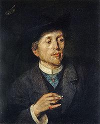 Автопортрет, Национальная галерея, Любляна