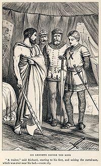 Dalziel Brothers - Sir Walter Scott - The Talisman - Sir Kenneth before the King.jpg