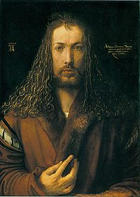 Автопортрет, 1500, Старая Пинакотека, Мюнхен