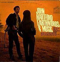Обложка альбома «Earthwords & Music» (Джона Хартфорда,1967)