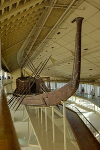 Древнеегипетское судно около 2500 до н