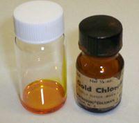 Хлорид золота(III): химическая формула