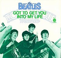 Обложка сингла «Got To Get You Into My Life» (The Beatles,1976)