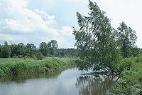 Река Гуслица у села Хотеичи