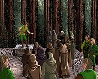Эрутан Ривол призывает друидов к войне с Ченноном