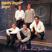 Обложка сингла «I'll never break your heart» (Backstreet Boys,1996)