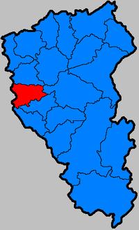 Промышленновский район на карте