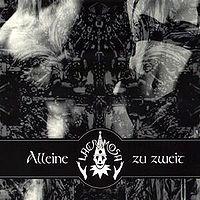 Обложка сингла «Alleine Zu Zweit» (Lacrimosa,1999)