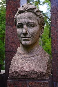 Memorial to Zoya Kosmodemyanskaya.JPG