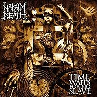 Обложка альбома «Time Waits For No Slave» (Napalm Death, 2009)