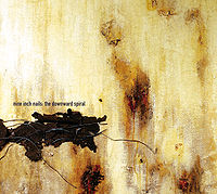 Обложка альбома «The Downward Spiral» (Nine Inch Nails, 1994)