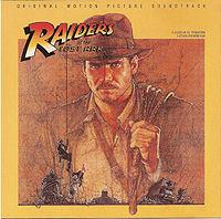 Обложка альбома «Искатели утраченного ковчега Raiders of the Lost Ark» (Джона Уильямса,1981)