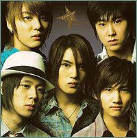 Обложка сингла «Stay With Me Tonight» (группы Tohoshinki,2005)