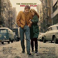 Обложка альбома «The Freewheelin' Bob Dylan» (Боба Дилана,1963)