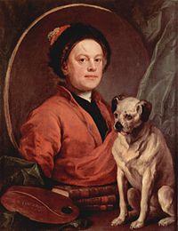 Автопортрет, 1745